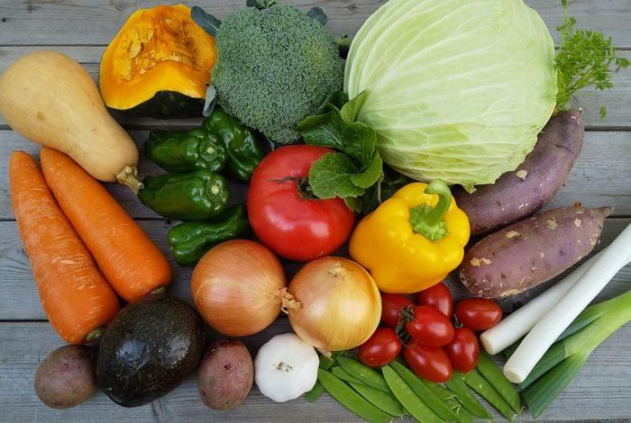 市場 野菜