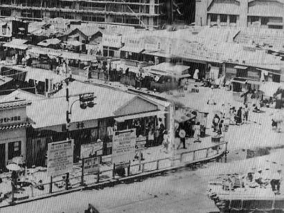 7月31日【今日は何の日】1946年 ヤミ市閉鎖指令で三宮のヤミ市で夜中 ...