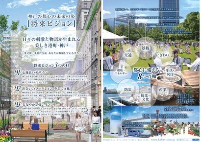 神戸の都心の未来の姿『将来ビジョン』-2