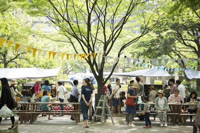 東遊園地で生産者と消費者をつなぐ eat local kobe ファーマーズ