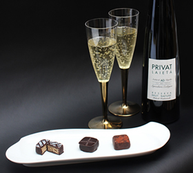 ワインとチョコレート